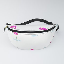 Water Lilies in Pink Fanny Pack