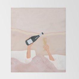 Morning Wine Throw Blanket