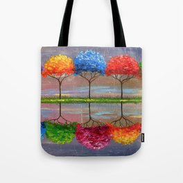 Each tree has its own smell Tote Bag