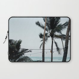 Palm Tree Silhouettes Laptop Sleeve