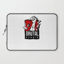 Brutal Studio Logo Laptop Sleeve