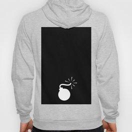 BLACK & WHITE BOMB DIGGITY Hoody