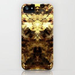 Golden Screamo iPhone Case