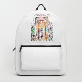 Tooth Structure Backpack