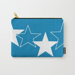 star me in blue Carry-All Pouch