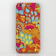 Shabby flowers #19 iPhone Skin