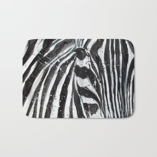 Stripes // The Zebra Bath Mat