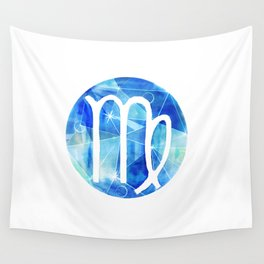 Virgin. Sign of the zodiac. Wall Tapestry