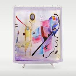 inspiration from Kandinsky . artwork Shower Curtain