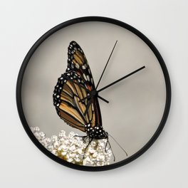 A Fine, Upstanding Monarch Wall Clock