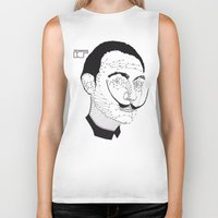 dali Biker Tanks featuring DALI by pointing@faces