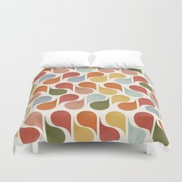 retro pattern no4 Duvet Cover