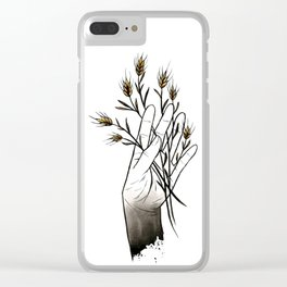 Wheat Clear iPhone Case