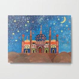 Ode to Arabian Nights Metal Print