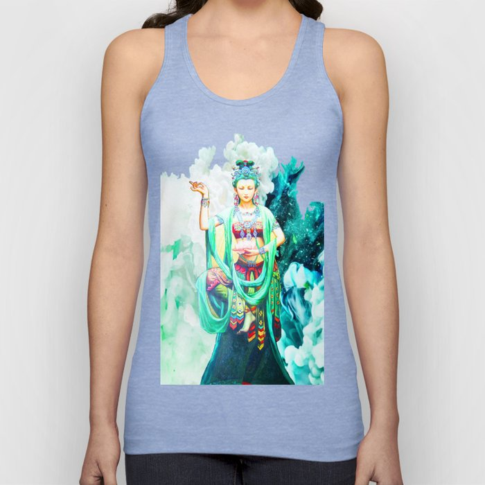 The Goddess of Mercy Unisex Tank Top