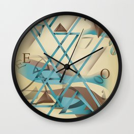 Abstractionist – Devoid of Reason Wall Clock