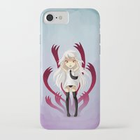 anxiety iPhone & iPod Cases featuring Anxiety by Freeminds