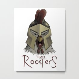 Team Rooster (W/O Background) Metal Print
