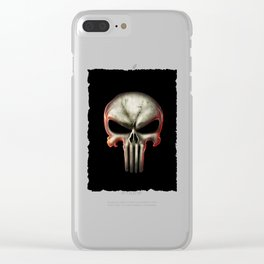 The Punisher Clear iPhone Case