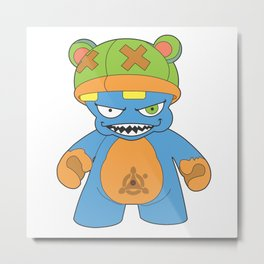 Evil Bear Metal Print