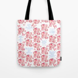 Wrap yourself in the promises of God Tote Bag