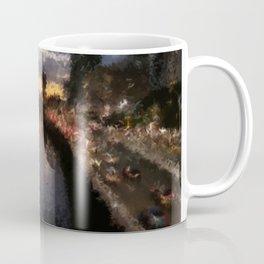 Brisbane River - A Beautiful Digital Painting Print Coffee Mug