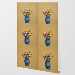 """Odilon Redon """"Vase of Flowers"""" Wallpaper"""