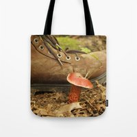 mushroom Tote Bags featuring Mushroom by JCalls Photography