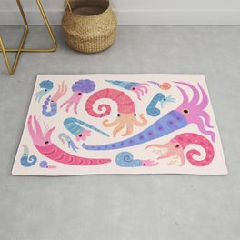 Ancient cephalopods Rug
