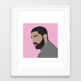 Drake Framed Art Print