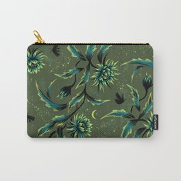 Queen of the Night - Green Carry-All Pouch
