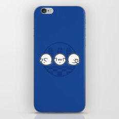 Boo No Evil iPhone & iPod Skin