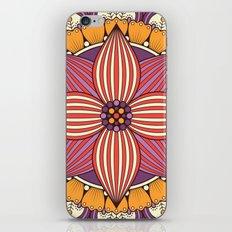 Mandala orchid iPhone & iPod Skin