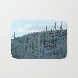 evening cactus Bath Mat