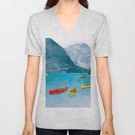 Canadian Canoes Unisex V-Neck