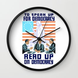 To speak up for democracy, read up on democracy Wall Clock