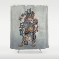 human Shower Curtains featuring Human naturally by Maethawee Chiraphong