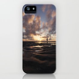 Watching the Sun Rise iPhone Case