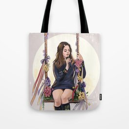 LA to the moon Tote Bag