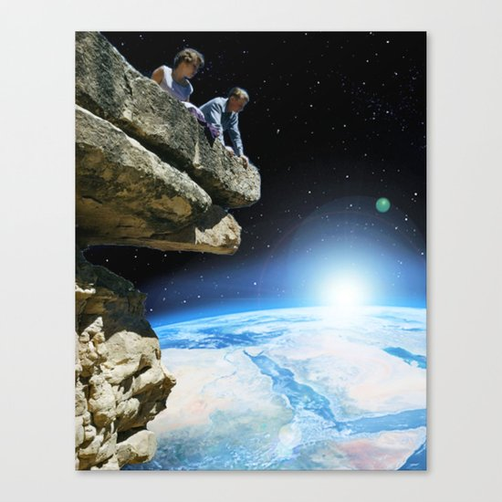 long way from home Canvas Print
