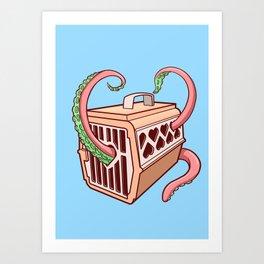 Pet Tentacles Kunstdrucke