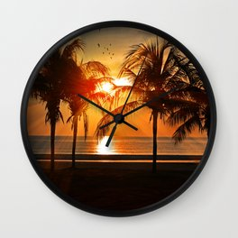 Let's Be Friends Wall Clock