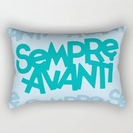 Sempre Avanti Rectangular Pillow