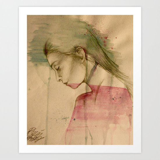 Borderlines Art Print