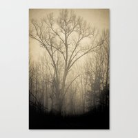 inner demons Canvas Prints featuring Inner Demons by Olivia Joy StClaire