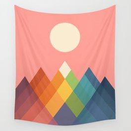 Rainbow Peak Wall Tapestry