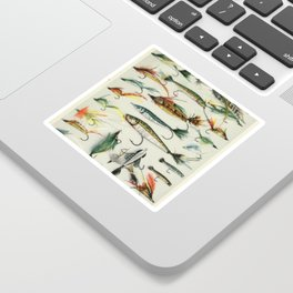 Fishing Lures Sticker