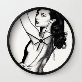 Drawn Wall Clock