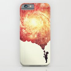 The universe in a soap-bubble! (Awesome Space / Nebula / Galaxy Negative Space Artwork) Slim Case iPhone 6s