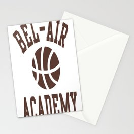 Fresh Prince Bel-Air Academy Basketball Shirt Stationery Cards